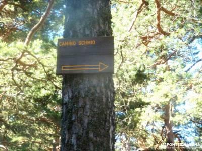 Siete Picos[Serie clásica]:Sierra del Dragón;rutas por el pardo lengua glaciar escapadas desde mad